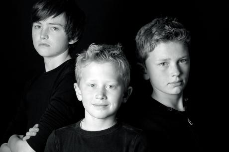 Jasper, Emiel en Wouter