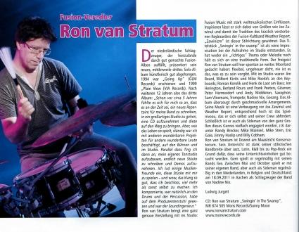 JazzPodium-Ron van Stratum
