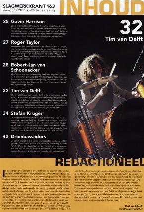 Slagwerkkrant-Tim van Delft- de Staat